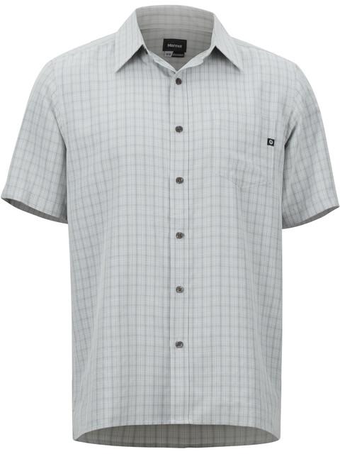 Marmot Eldridge SS Shirt Men glacier grey